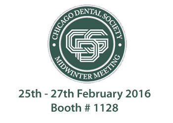Zolar laser at Chicago Dental Society Midwinter Meeting 2016